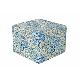 Dale Cube Ottoman by Charlton Home