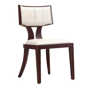 Regency Genuine Leather Upholstered Dining Chair (Set of 2) by Ceets