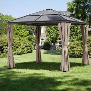 Dufour 3m X 3m Steel Patio Gazebo By Sol 72 Outdoor