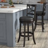 Severn Swivel Bar & Counter Stool by Alcott Hill®