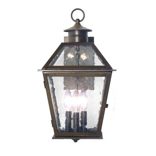 Read Reviews Corrina 3-Light Outdoor Wall Lantern By 2nd Ave Design