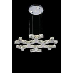 Arendelle LED Chandelier by CWI Lighting