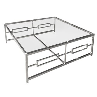 Alma Coffee Table with Tray Top by Mercer41 SKU:EE854670 Description