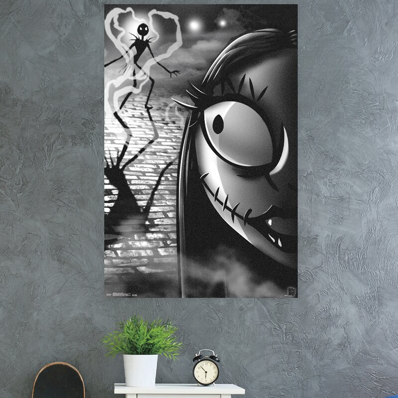 Trends International The Nightmare Before Christmas - Jack And Sally Paper  Print Wayfair