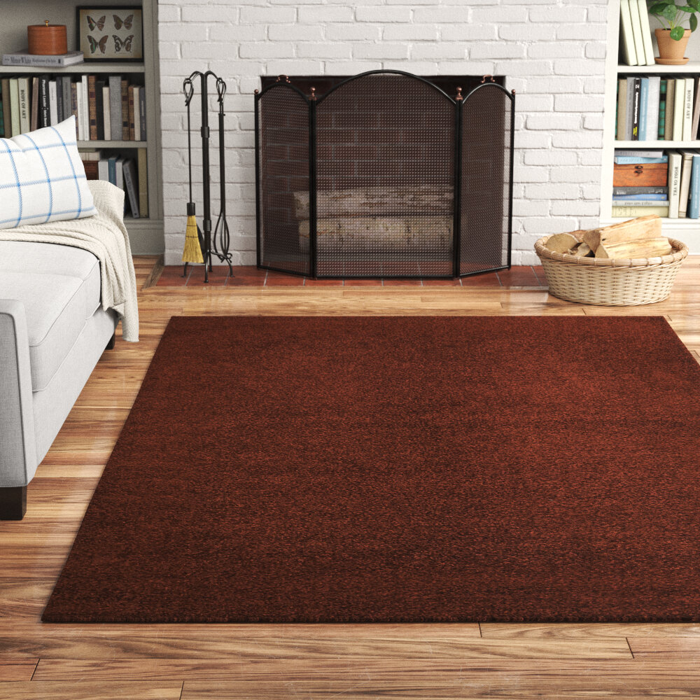 Brown Tan Shag Area Rugs Free Shipping Over 35 Wayfair