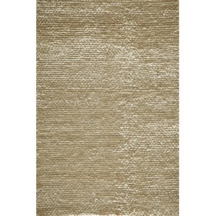Inexpensive Thaddeus Hand-Woven White Area Rug By Bloomsbury Market