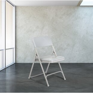 Inexpensive 800 Series Plastic Folding Chair (Set of 4) by National Public Seating