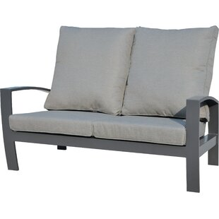 Check Price Crowle Garden Sofa With Cushions