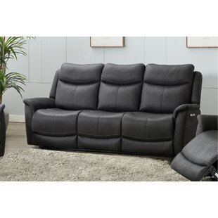 Wimmer 3 Seater Reclining Sofa By Mercury Row