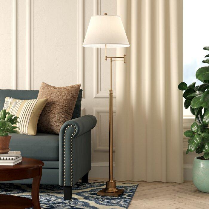 Emmeline 60 Swing Arm Floor Lamp