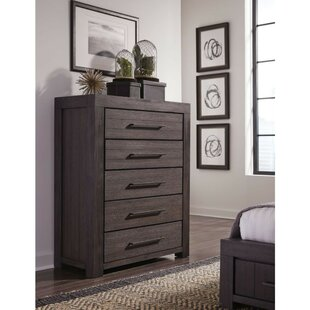 Boysen Wooden 5 Drawer Chest