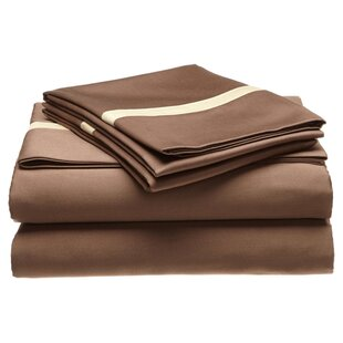 Three Posts Parish 300 Thread Count 100% Cotton Sheet Set