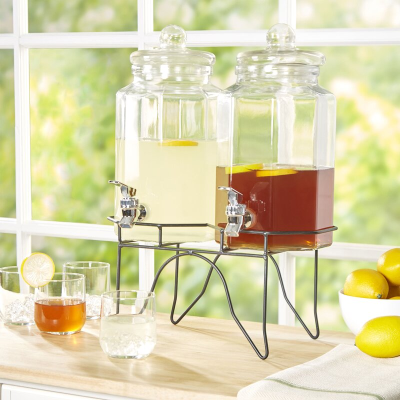 Gilford Basics 3 Piece Beverage Dispenser Set