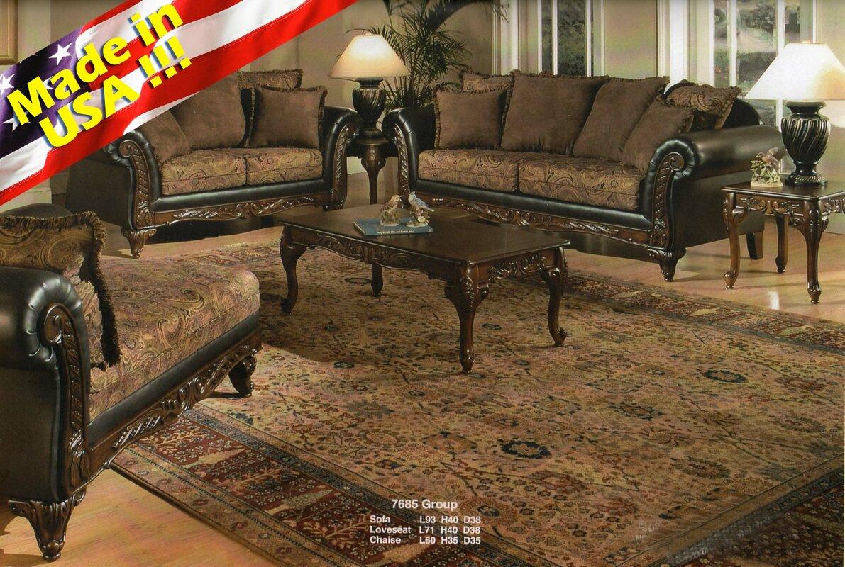 Beautiful Oswego 2 Piece Living Room Set