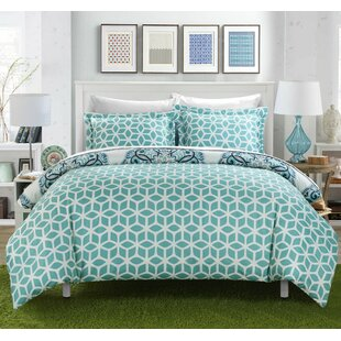 Ibiza 7 Piece Reversible Duvet Cover Set