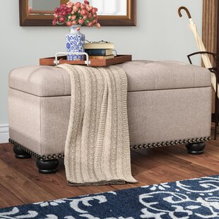 Best Mccroskey Tufted Storage Ottoman By Three Posts