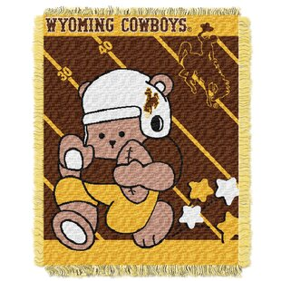 Look for Collegiate Wyoming Baby Throw ByNorthwest Co.