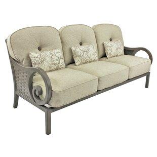 Leona Riviera Patio Sofa with Cushions