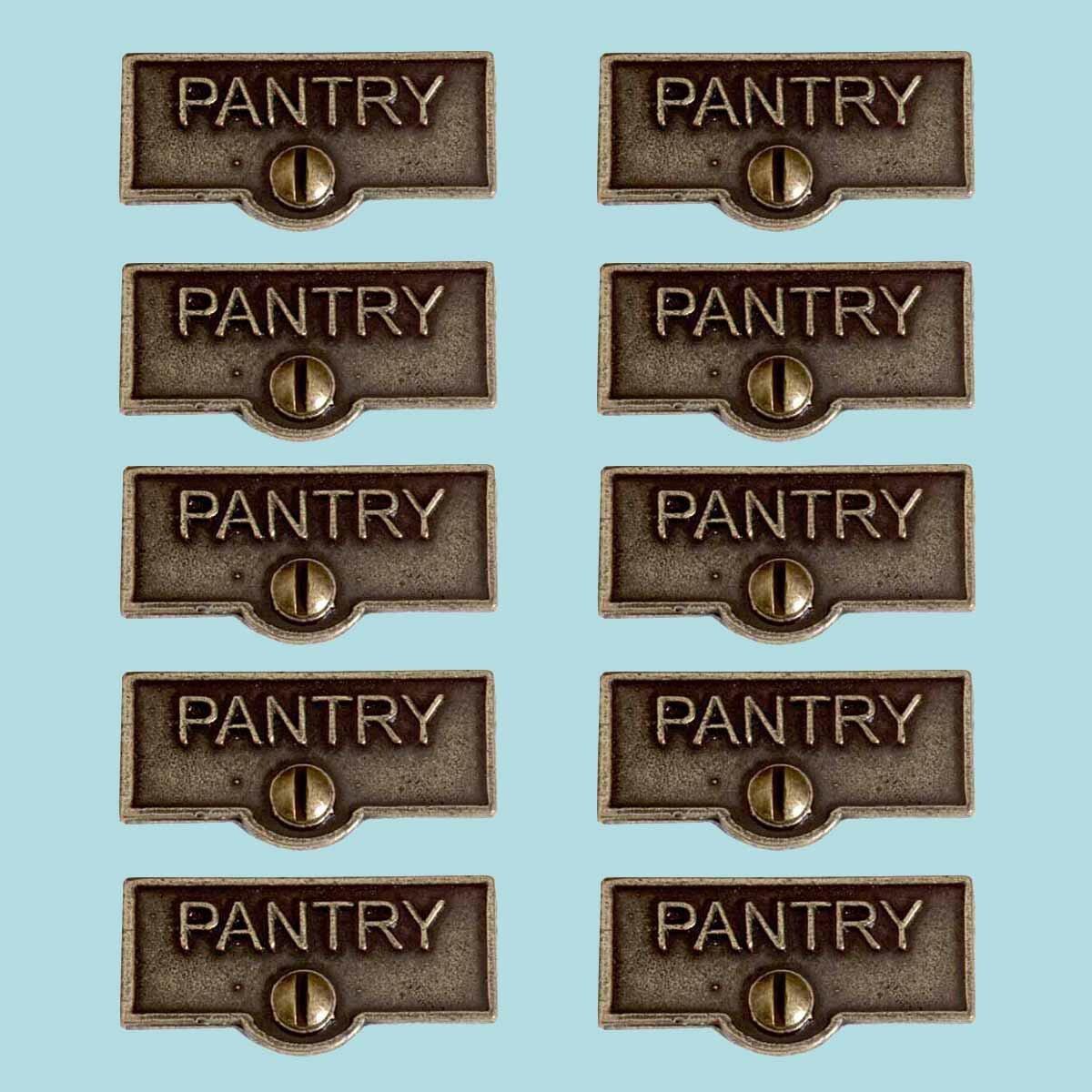 The Renovators Supply Inc Switch Tags Pantry Name Signs 1 Gang Rocker Wall Plate Wayfair