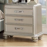 Ault 3 Drawer Nightstand by House of Hampton®
