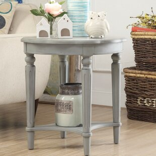Jantz End Table by Ophelia & Co.