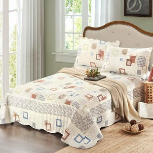 Rhein 3 Piece Reversible Quilt Set by Winston Porter 2019 Coupon