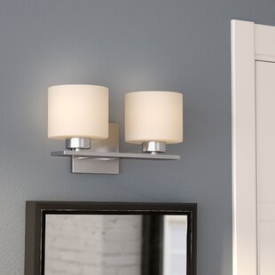 Top Reviews Carswell 2-Light Vanity Light By Latitude Run
