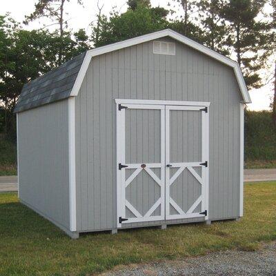 Little Cottage Company 10x12 CWGB-6-WPNK