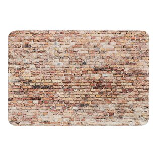 Rustic Bricks by Susan Sanders Bath Mat By East Urban Home