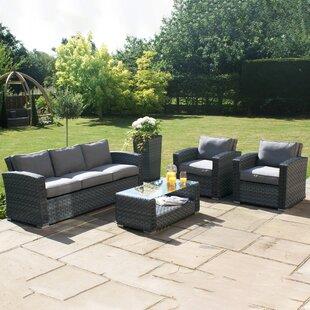 Blaisdell 5 Seater Rattan Sofa Set Image