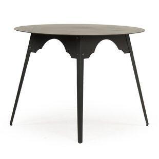 Gaylon Metal Large End Table by Bloomsbur..