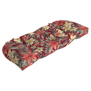 Tropical Outdoor Bench Cushion