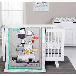 Order Cardone 4 Piece Crib Bedding Set ByZoomie Kids