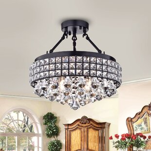Braymer 4-Light Semi Flush Mount by House of Hampton