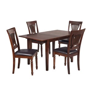 Armstrong 5 Piece Dining Set by TTP Furnish