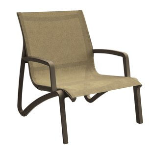 Leighann Sling Armless Lounge Chair (Set of 4)