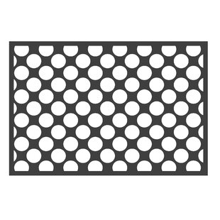 Best Choices Bair Dots/Pin Black/White Area Rug ByHarriet Bee