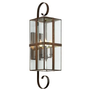 Fleur De Lis Living Channell 4-Light Outdoor Sconce