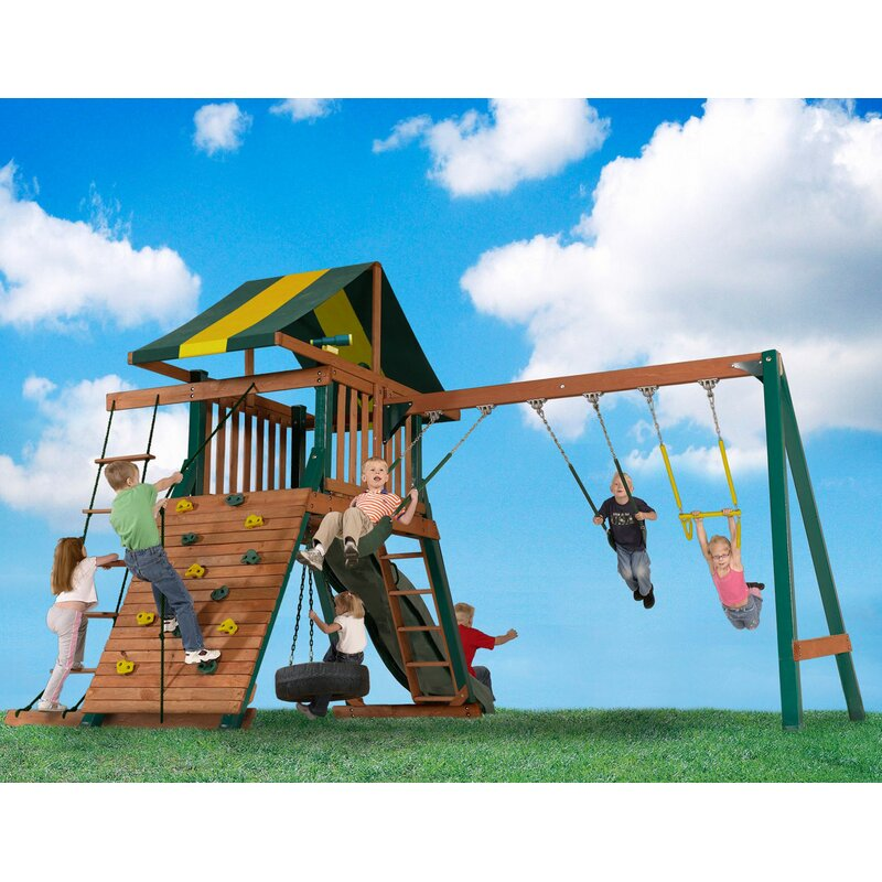 Backyard Play Systems Turtle Cove Swing Set