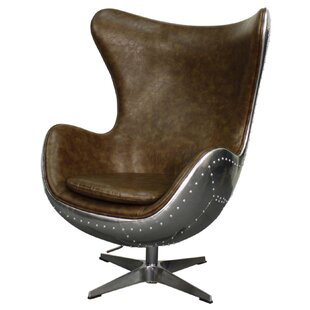 Devaughn Swivel Wingback Chair