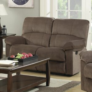 Mcneely Reclining Loveseat by Red Barrel Stu..