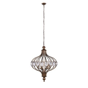 Altair 3-Light LED Geometric Chandelier by CWI Lighting