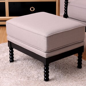 Winslow Ottoman by Breakwater Bay