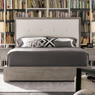 Laurel Foundry Modern Farmhouse Perreault upholstered Panel Bed