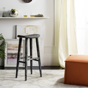 Goulette Wood 30.7 Bar Stool