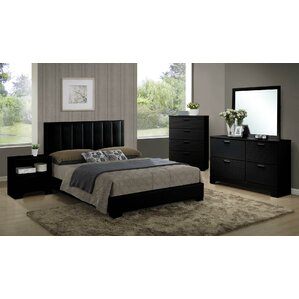 Perfect Moderno Twin Platform Customizable Bedroom Set