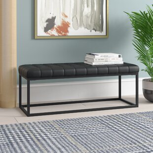 Feld Faux Leather Bench by Wrought Studio