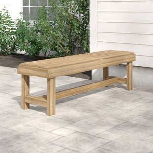 Carrabelle Wooden Bench By Sol 72 Outdoor