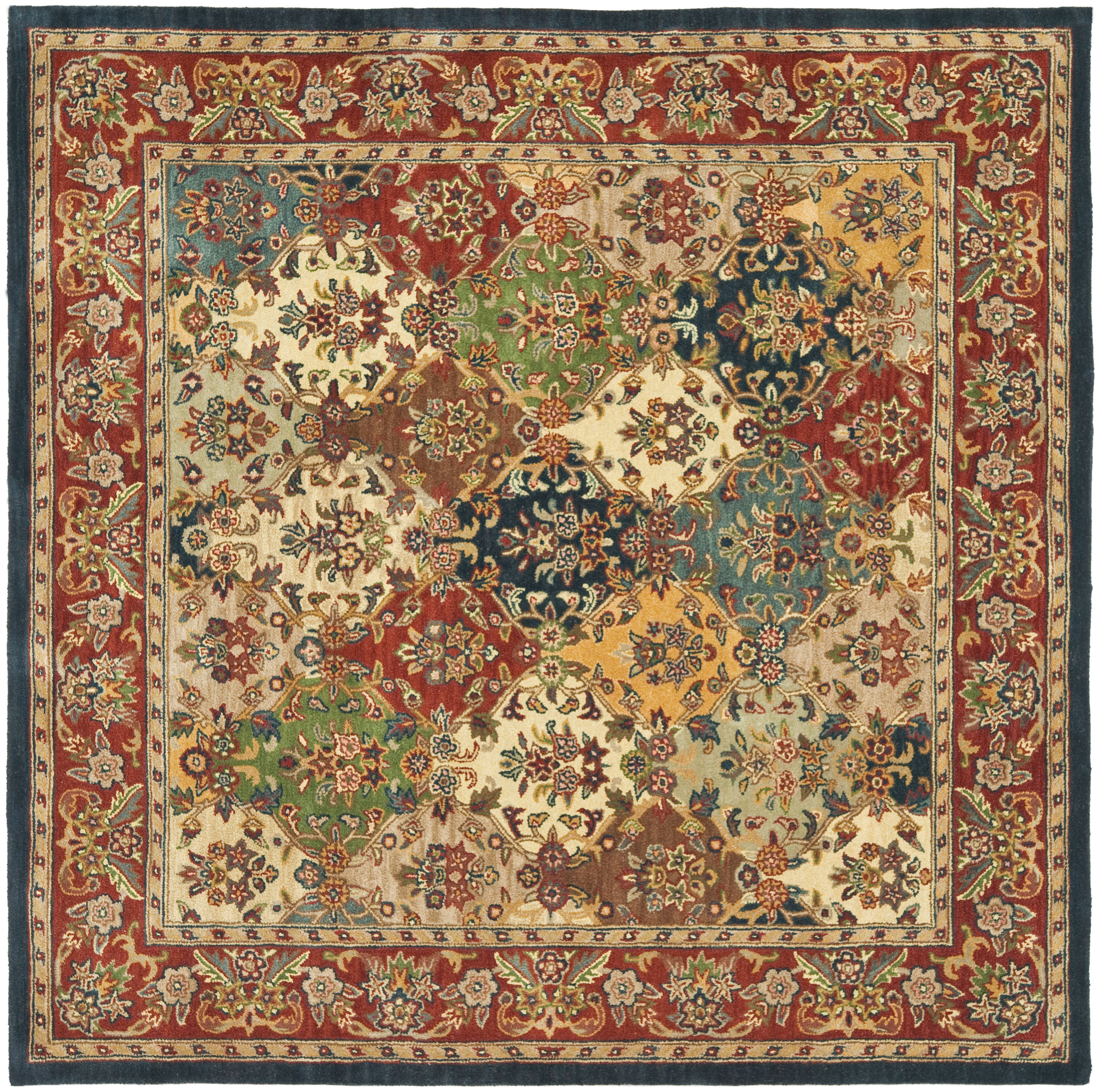 Square Wool Area Rugs You Ll Love In