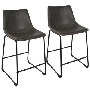 Mercury Row Amendola 25.5 Bar Stool (Set of 2)